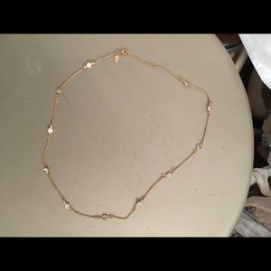 Jewelry - Dainty gold and cz necklace